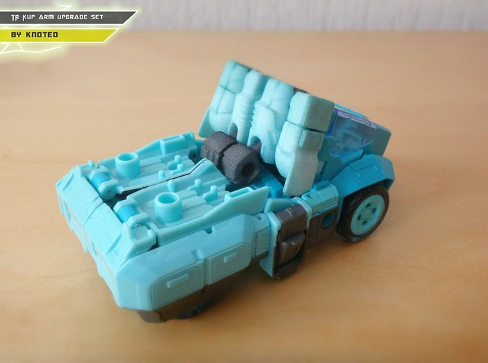 TR Kup Arm Upgrade Set A 3d printed