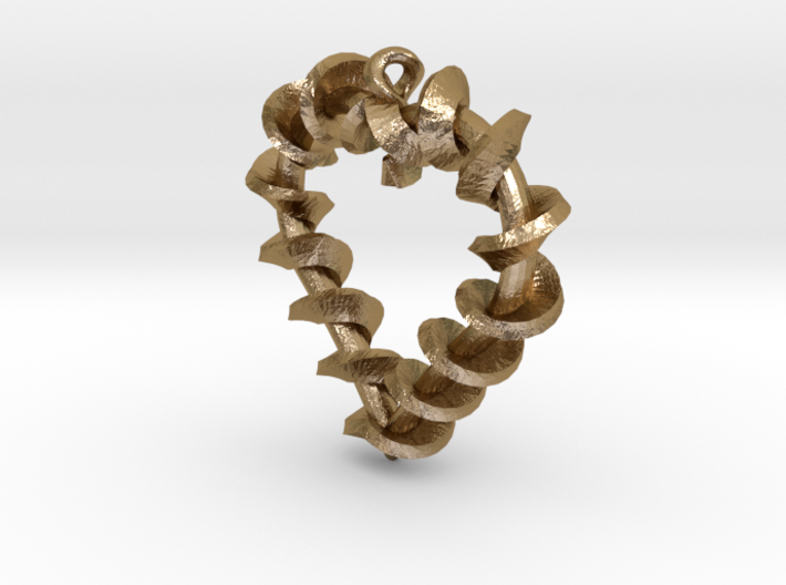 Twist of Hearts 3d printed