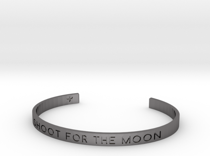 Shoot For The Moon Bracelet S-L 3d printed