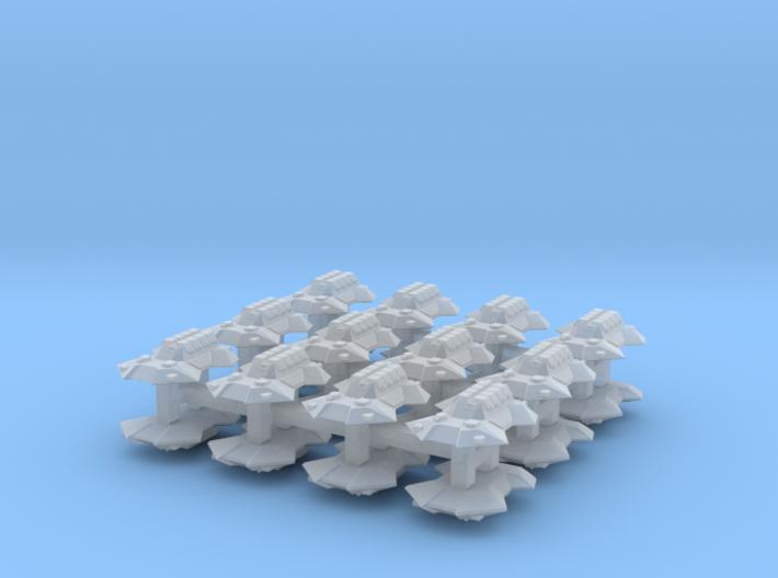 """Team Scythe"" 3mm Anti-Grav APC Pack (24pcs) 3d printed"