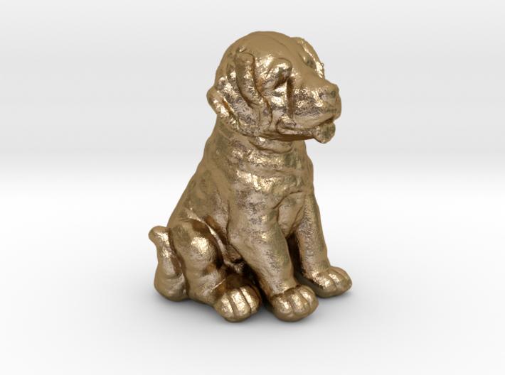 URNS Labrador Puppy 1.5mm 3d printed