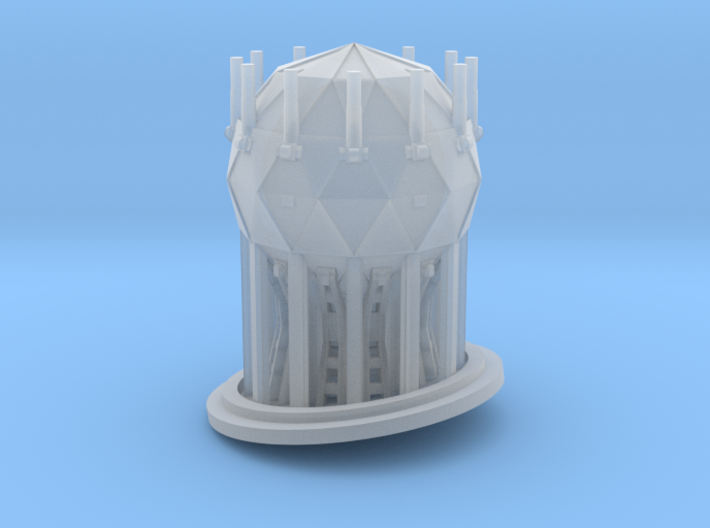 Shield Generator for 1/2700 Zvezda Imperial Class 3d printed