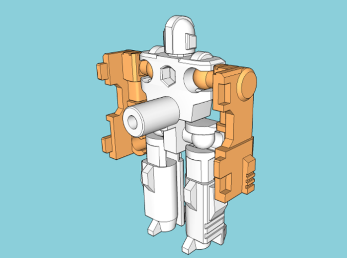 """MicroSlinger """"Flarestorm"""" 3d printed Arms attached."""