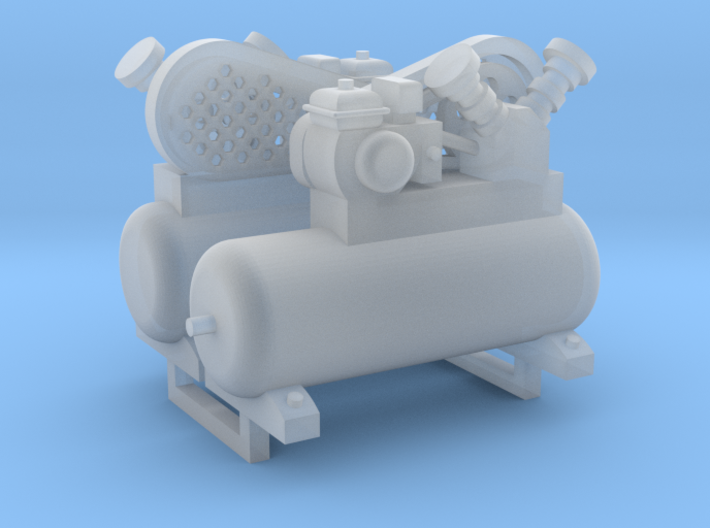 Air Compressor 2 Pack 1-64 Scale 3d printed