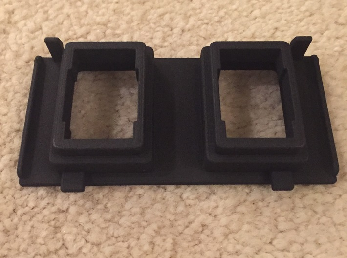 2016+ Toyota Tacoma Overhead Center Switch Panel  3d printed