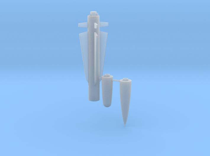 SAAB Rb 05a/b Missile 3d printed