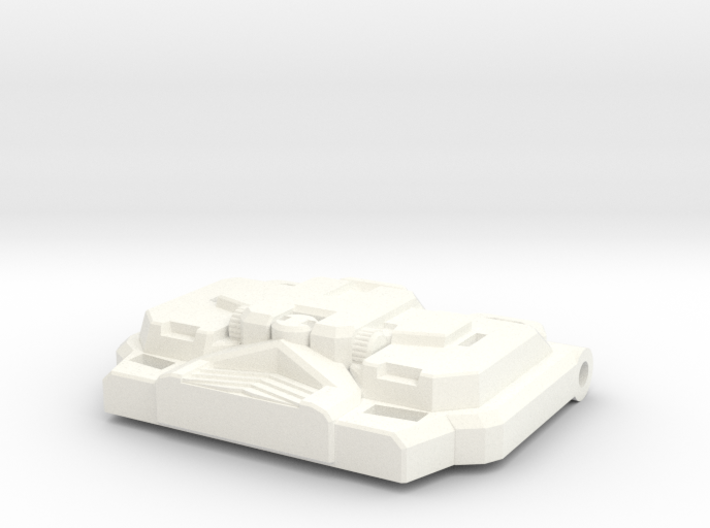 """Paranoid Streetracer's Chest Plate """"IDW"""" 3d printed"""
