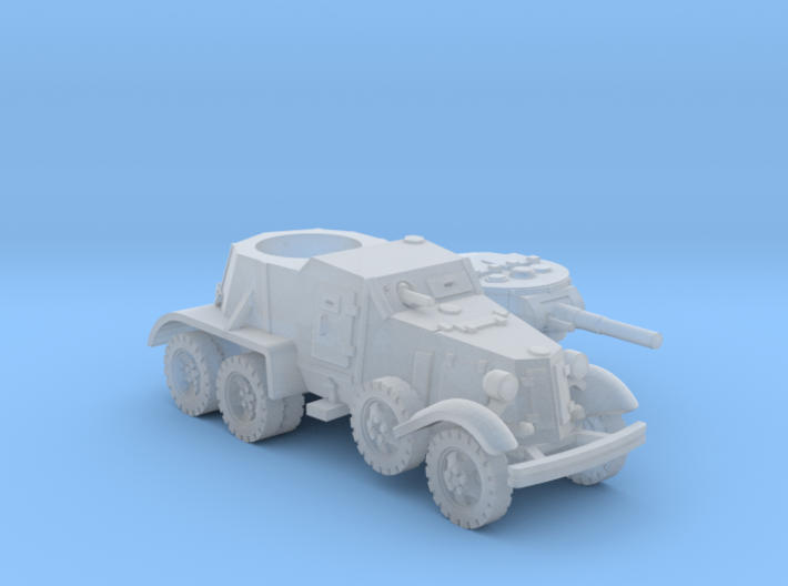 BA 36 with wheels (Soviet) 1/200 3d printed