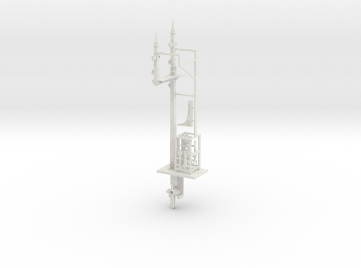 NSWGR 7mm LQ RH Bracket Signal and Parts 3d printed
