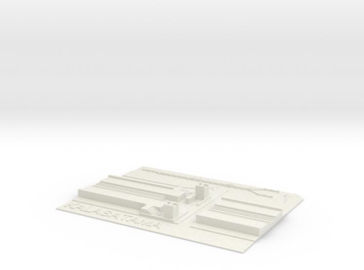 Kalasatama Metroasema 3d printed