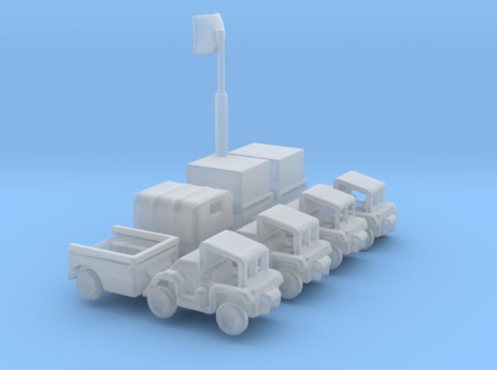 1/285 Scale Gama Goat Set 3d printed