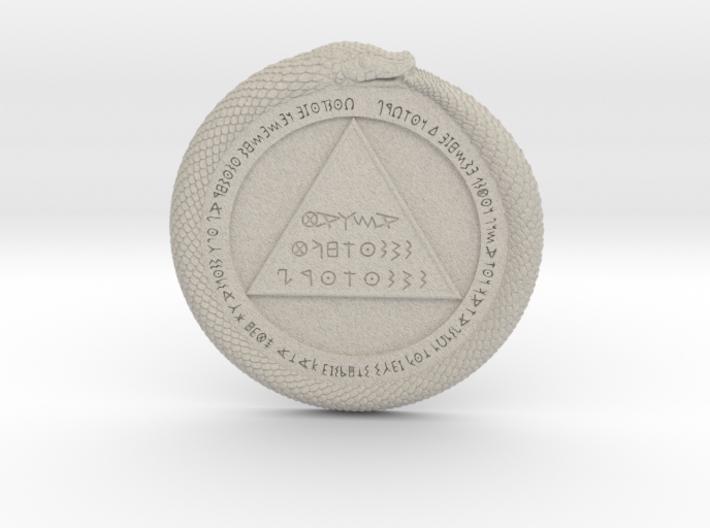 Omphalos Base 3d printed