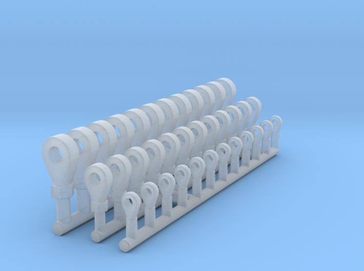 Rod Ends 1/12 3d printed