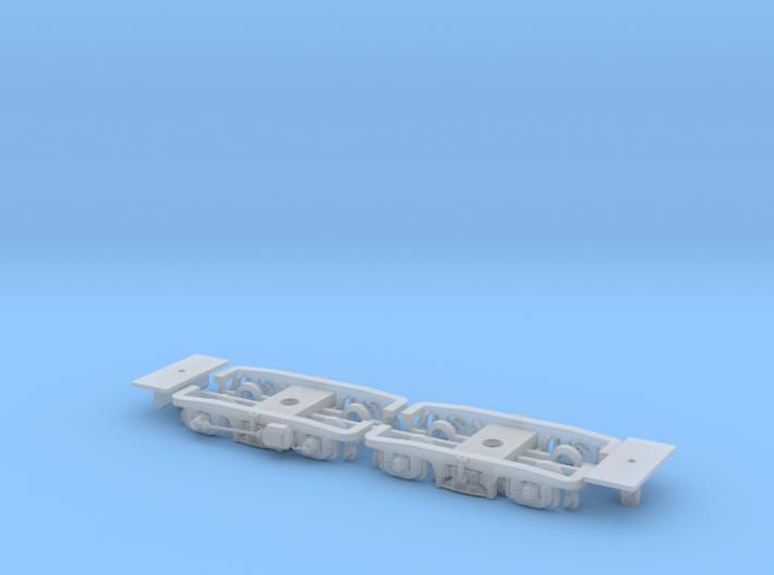 #18E Drehgestell SGP V Universal-Adapter/GS-LiMa 3d printed