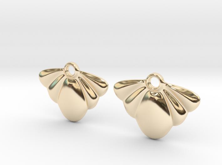 Seashell Earring Set 3d printed