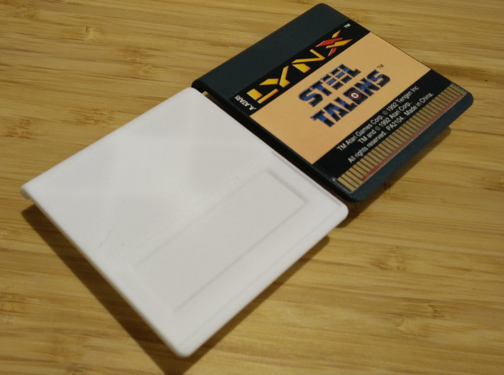 Atari Lynx CartridgeBody V3 3d printed real lynx cartridge not included