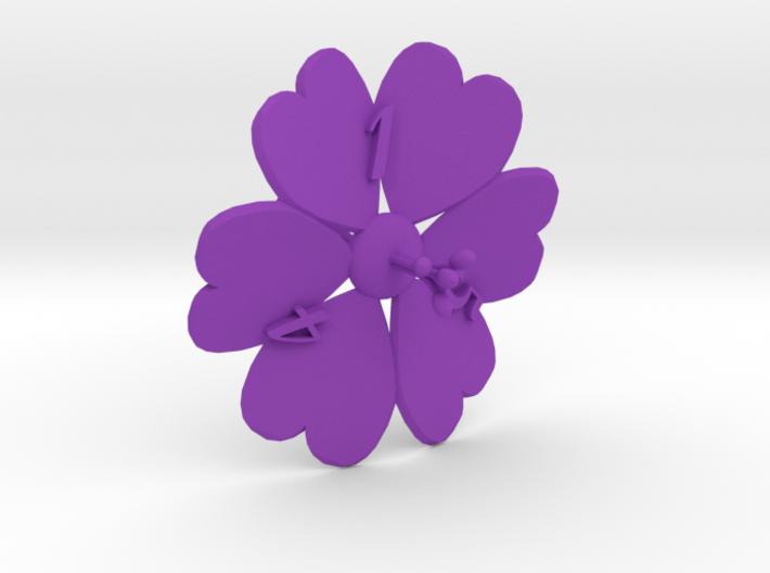 Hibiscus D6 3d printed