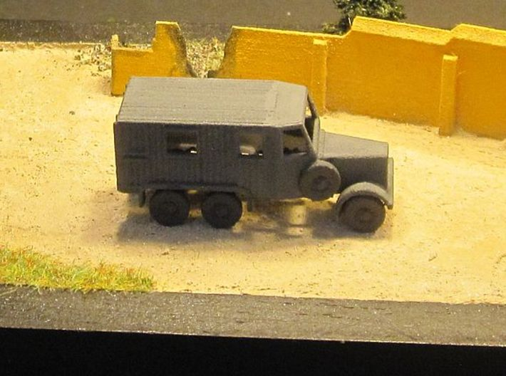 1/144 German Radio truck 3d printed