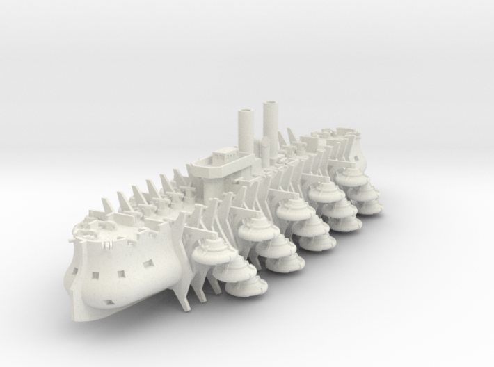 Trireme Airship 3d printed