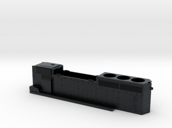 CN 5279-53XX SD40-2W (with batten strip) Hood 1/87 3d printed