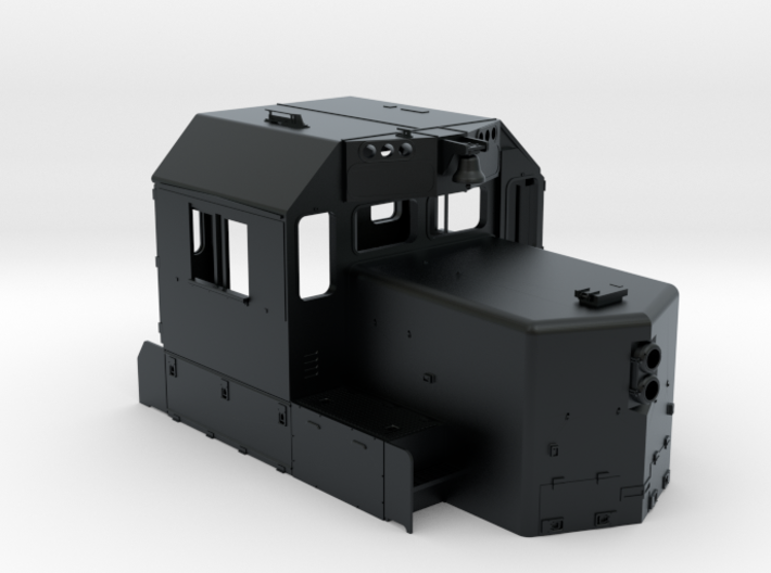 "CA0023 CPR 102"" SD40-2 Cab, Late, Class Lts ""B"" 3d printed"
