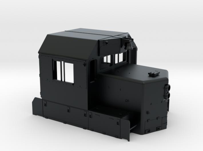 "CP SD40-2 81"" Nose Rebuilt Cab 1/87.1 3d printed"