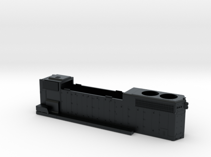 CN5560–5610 GP38-2W Hood As Built 1/87.1 3d printed
