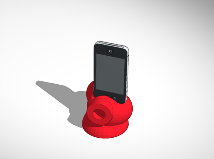 Reddie Music Iphone Speaker booster 3d printed