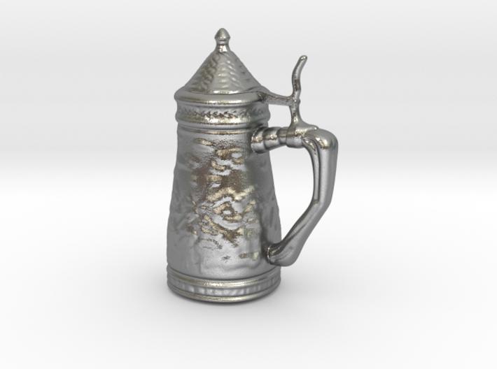 Ornamental Beer Stein Game Token 3d printed