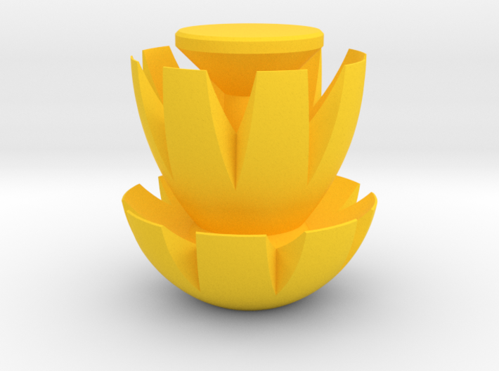 Trophy Bloom 3d printed