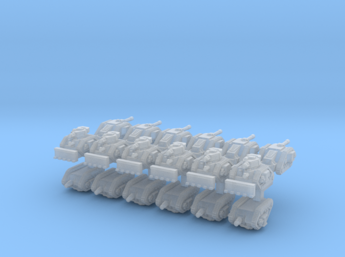 3mm Imperious Guard Assault Group (18pcs) 3d printed