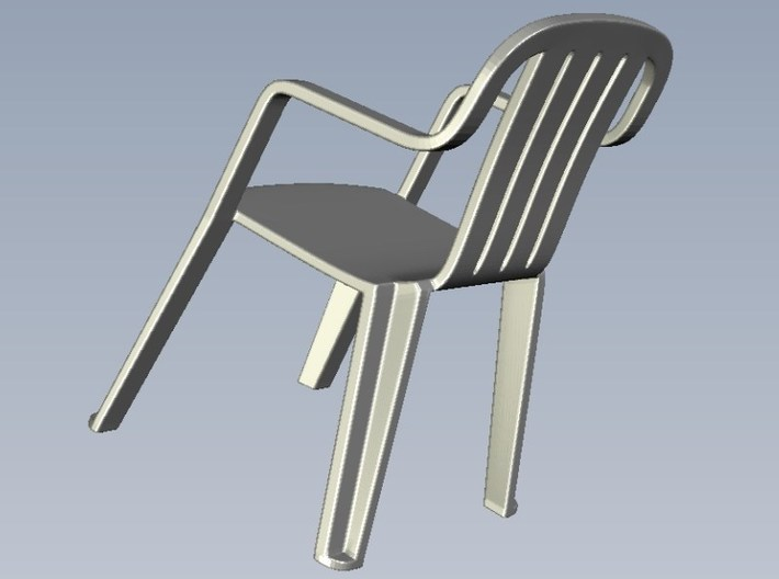 1/35 scale plastic chairs set x 5 3d printed
