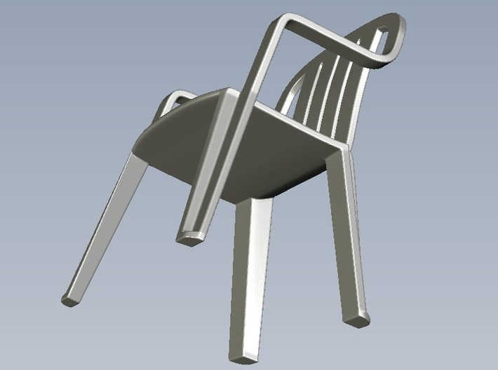 1/35 scale plastic chairs set x 10 3d printed