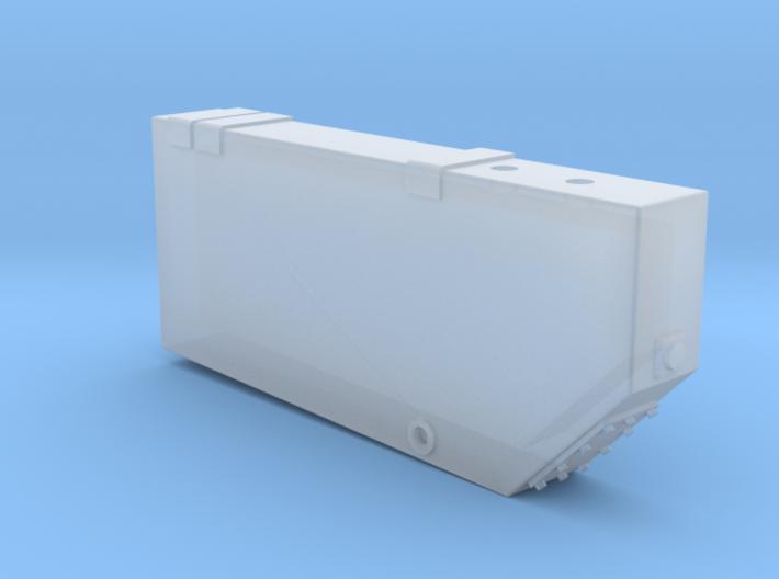 WR0001 Angled Corner Waste Retention Tank 1/87.1 3d printed