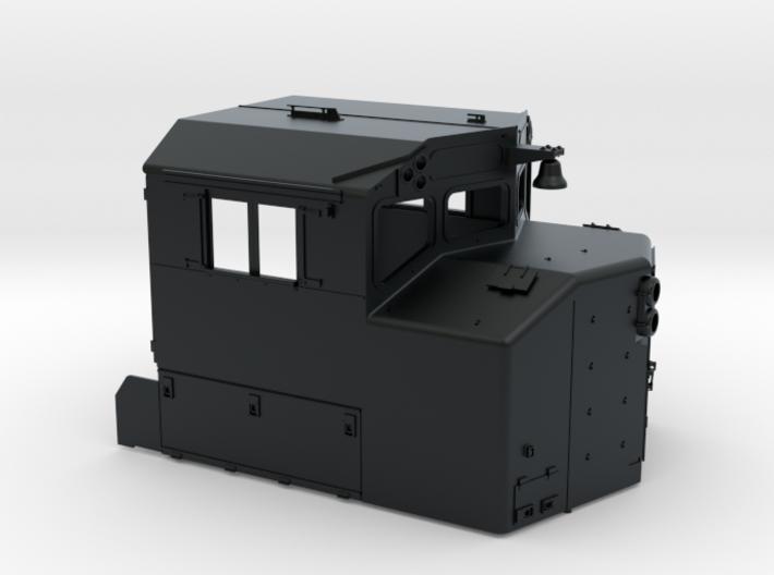 """CB0017 CN SD40-2W REBUILT """"C"""" 1/87.1 3d printed"""