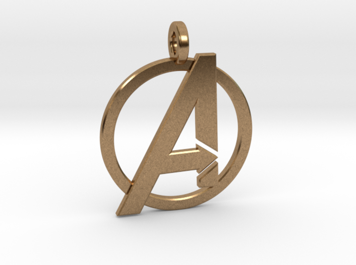 Avengers Keychain 3d printed