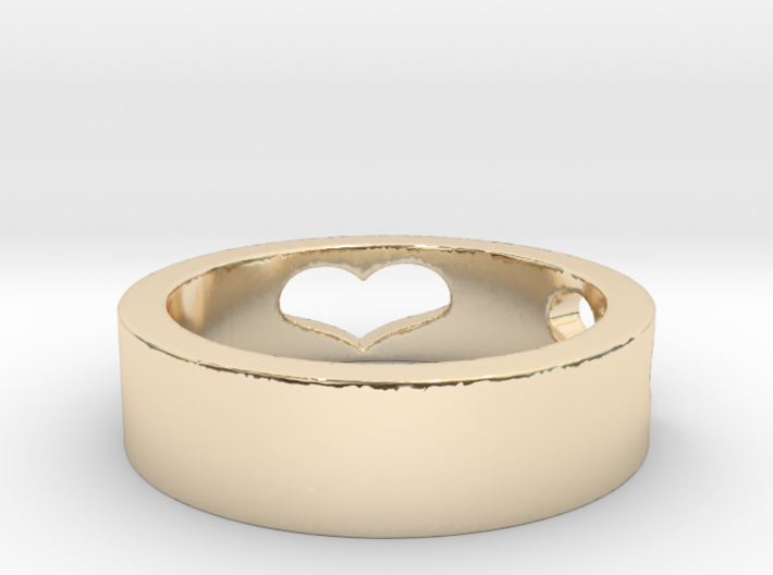 My Love Ring Size 8 3d printed