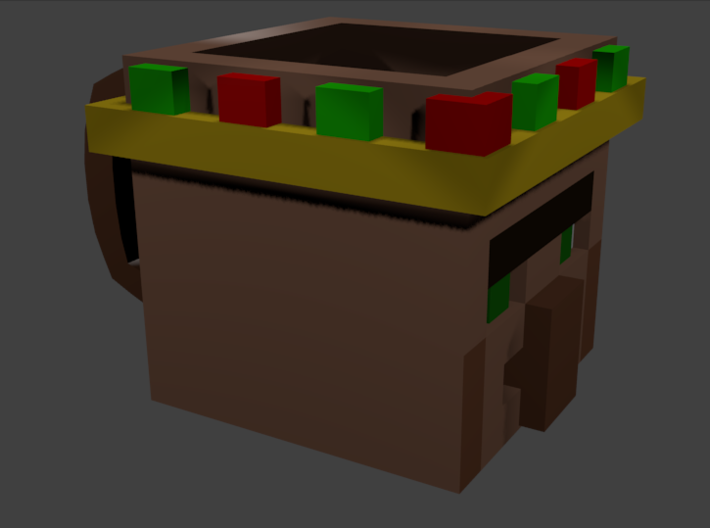 TheVillagerKingGamer's Cup 3d printed This is my colored version this one can not be bought
