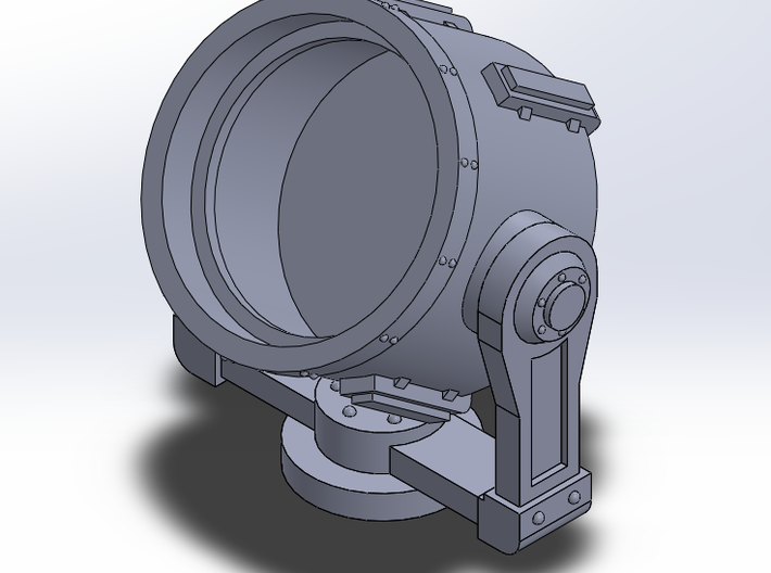 Searchlight 28mm 3d printed