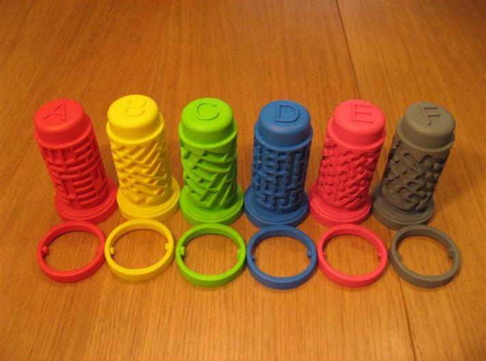 Cooksey Tribute D 3d printed Set of Cooksey Tribute puzzles
