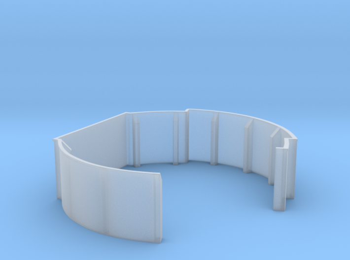 1/72 USN 40mm Twin Midships Tub Starboard 3d printed