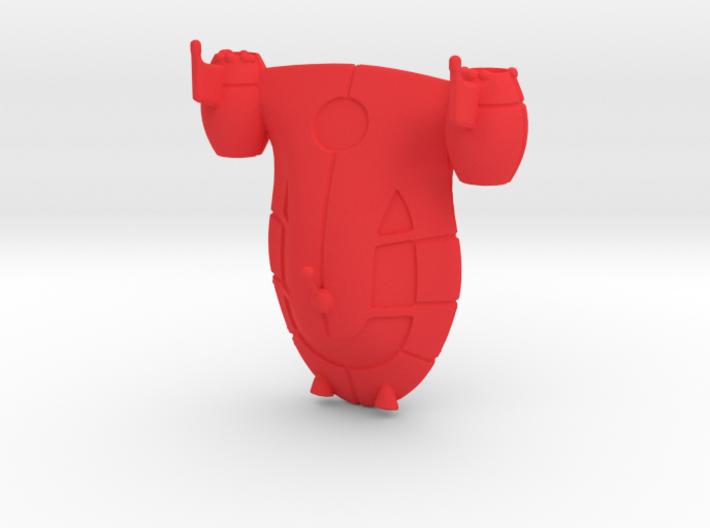 Rocket from Little Einsteins 3d printed