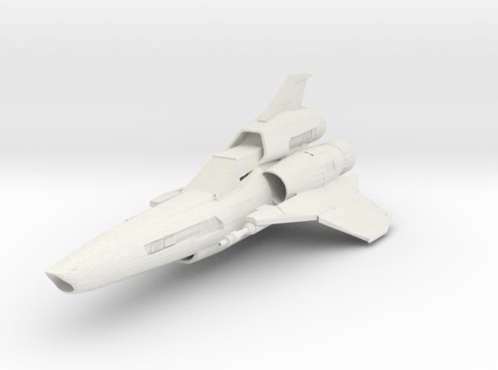 Battlestar Galactica Viper MK2 3d printed