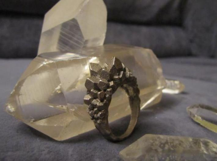 Crystal Ring size 12 3d printed Photo 2
