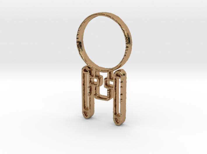 Enterprising Pendant 3d printed