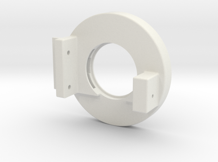 Rampage Encoder Mount Right Back 3d printed