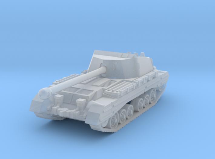 Archer tank (United Kingdom) 1/200 3d printed