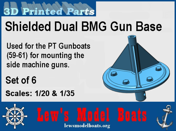 PT Gunboat Side BMGs Base 3d printed Info