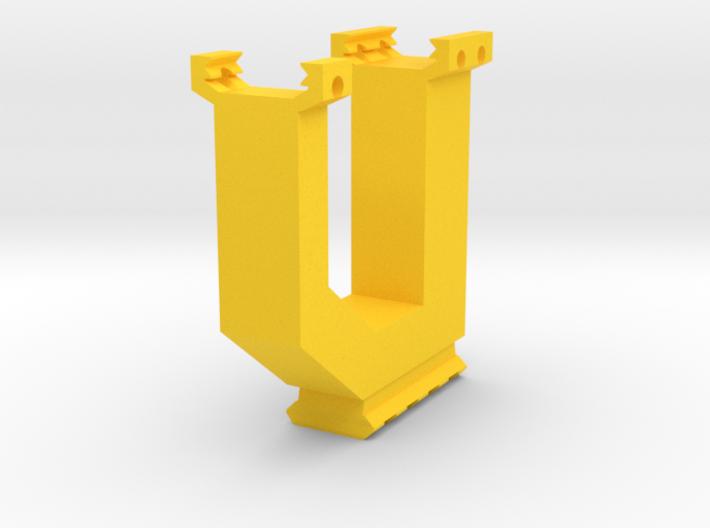 One World MultiGrip With Bottom Picatinny Rail 3d printed