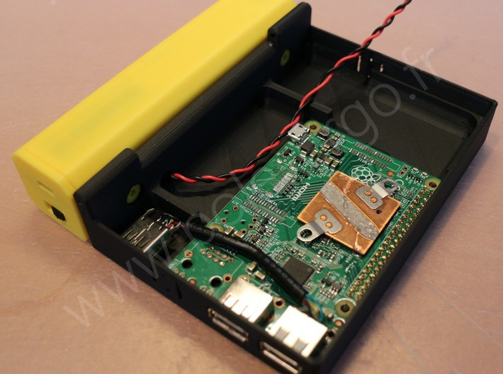 RASPBERRY UMPC PROJECT 3d printed